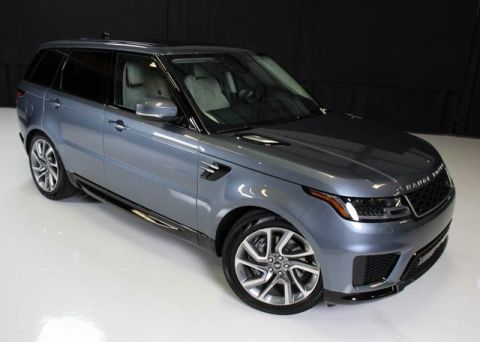 New 2019 Range Rover Sport HSE MHEV